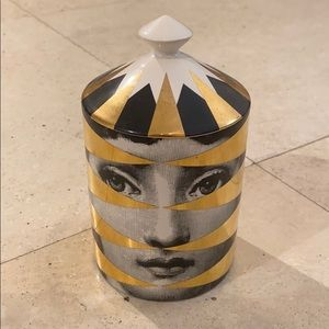 Small Fornasetti candle